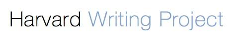 Harvard Writing Project